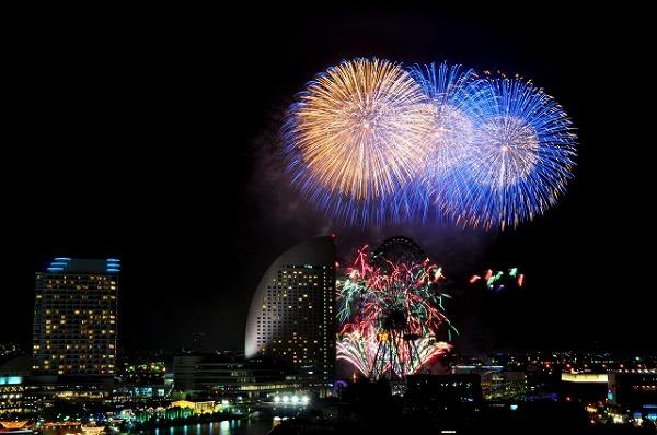 横浜開港祭花火