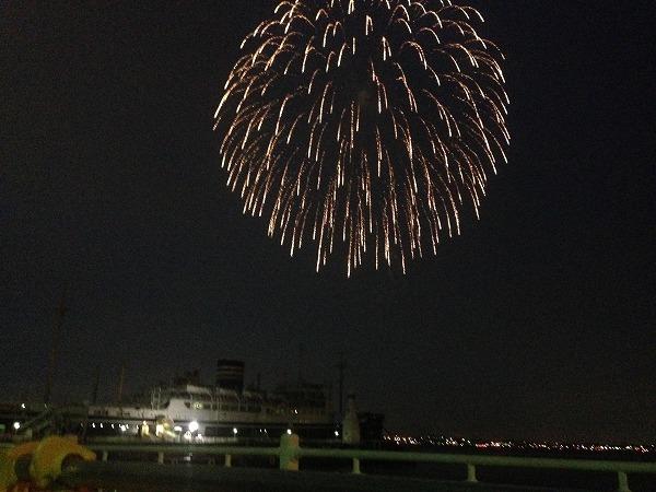 横浜スパークリングトワイライト花火